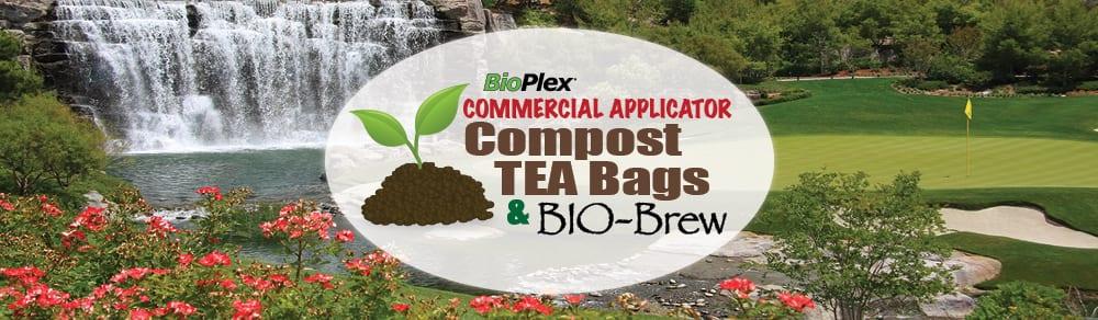 BioPlex Commercial Application Compost Tea Bags